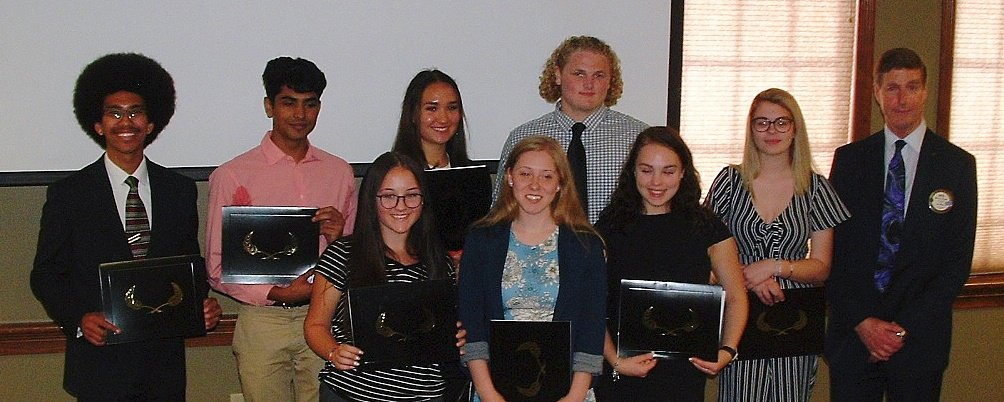 Scholarship Winners - Lacey Rotary 2018
